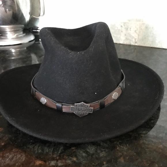 0be1cb658ec448 Men Harley-Davidson Cowboy Hat. M_5b55c9b0153795383deae517. Other  Accessories ...